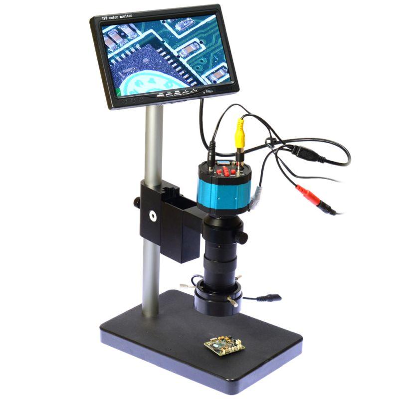 188b62f559faf Digitálny mikroskop, 2MP fotoaparát + stojan + 7 obrazoka + LED osvetlenie