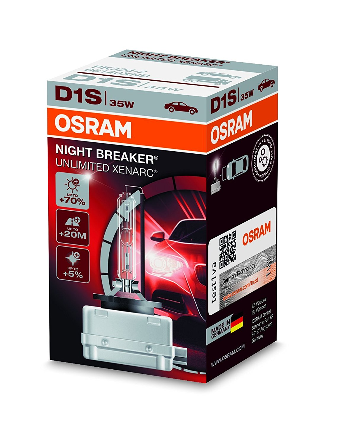 OSRAM D1S Xenarc Night Breaker